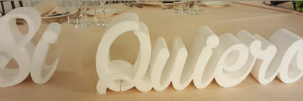 letras si quiero bodas